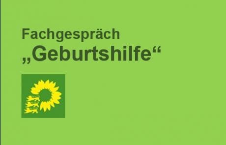 """Einladung zum Fachgespräch """"Geburtshilfe"""" der Grünen"""
