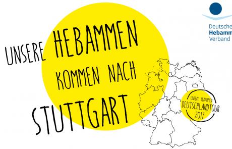 Aktion zur Bundestagswahl im Zentrum von Stuttgart